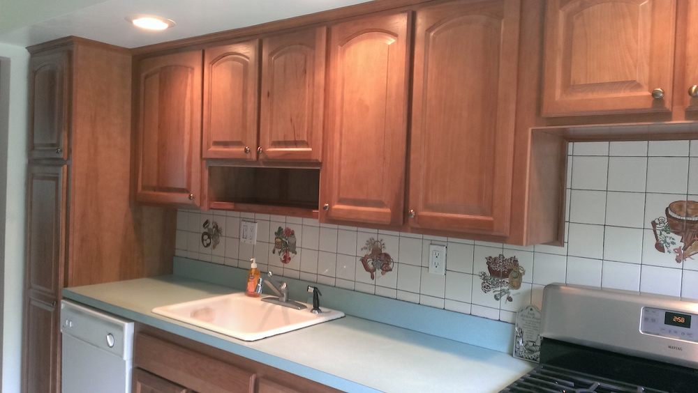 Our Kitchen Cabinet Refacing Solutions. Before. Before. After
