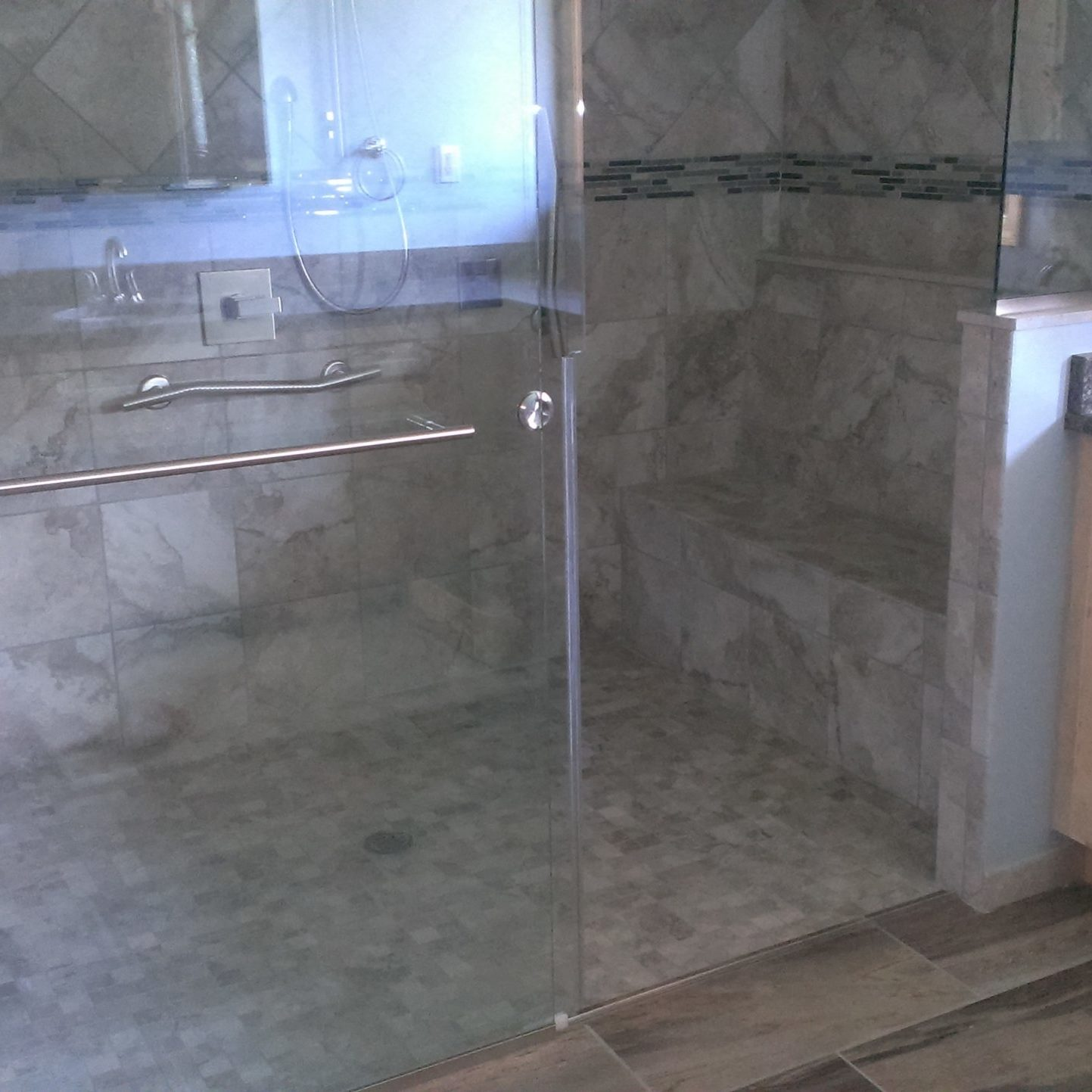 Custom Zero-Clearance Shower